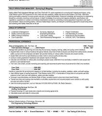Operation Manager Resume Download Operations Manager Sample Resume Haadyaooverbayresort Com