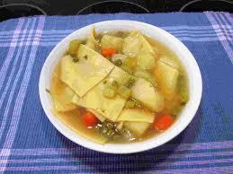 homemade dutch amish pot pie noodle soup recipe youtube