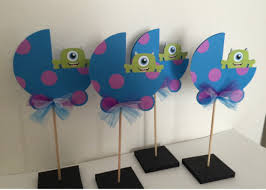 inc baby shower decorations baby monsters inc baby shower centerpieces decorationsbybelle