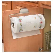 cabinet paper towel holder spectrum over the drawer cabinet paper towel holder target