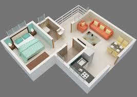 floor plan of 1bhk flats in chakan dwarka township