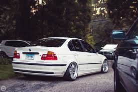 lowered cars car bmw m3 e46 stance lowered trees tuning bmw white