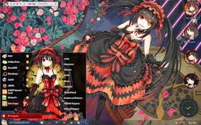 live themes windows 7 date a live tokisaki kurumi windows 7 theme by kurohtenshi