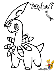 pokemon coloring pages totodile projects inspiration pokemon coloring pages bayleef coloring page
