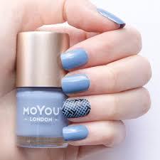 stamping nail polish chill out moyou london