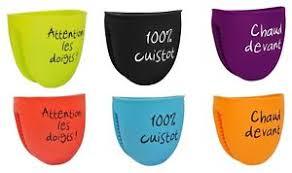 gant cuisine silicone manique cuisine gant four cuisson silicone mots 6 couleur au choix