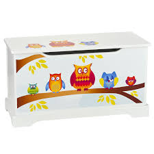 Fireman Sam Bedroom Furniture by Owls Wooden Toy Box With Lid Table U0026 Chairs Set Childrens