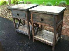 farmhouse crate end table woodworking plans woodworking and crates