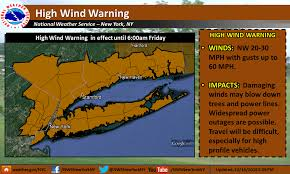new york travel forecast images Nyc weather forecast 39 high wind warning 39 in effect thursday night