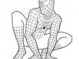 images free spiderman coloring pages 42 kids