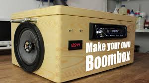 Design Your Own Transportable Home Make Your Own Boombox Youtube