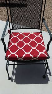 Red Patio Chair Cushions Best 25 Geometric Seat Pads Ideas On Pinterest Traditional Pool