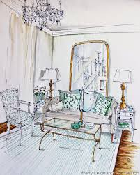 tiffany leigh interior design in my sketchbook living room by