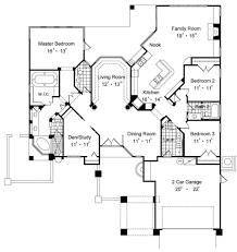 one floor plans with two master suites apartments house plans with two master suites on floor