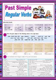 english worksheets simple past worksheets page 19