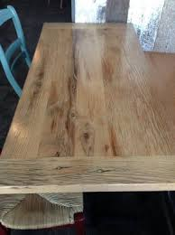 reclaimed oak table top reclaimed wood restaurant tables