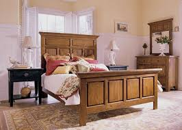 Customize Your Own Bed Set Attic Heirlooms Natural Oak Stain Finish Distinctive Barrister