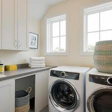 Discount Laundry Room Cabinets Two Tone Laundry Room Cabinets Design Ideas