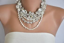 big pearl necklace wedding images Big chunky necklaces for weddings necklace wallpaper jpg