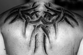 with 3d sick tribal back design future tattoos