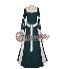 medieval renaissance noble lady dresses deluxe theatrical