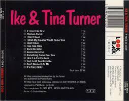 a fool in love copertina cd ike and tina turner a fool in love back cover cd