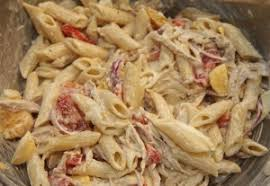 creamy pasta salad recipe quick creamy chicken pasta salad an egg recipe
