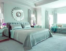 glamorous blue home decorating idea by tobi fairley bedroom photo