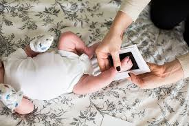 Pearhead Photo Album Pearhead Babyprints Newborn Baby Handprint And Footprint Photo