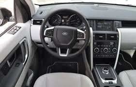 land rover discovery interior 2015 land rover discovery sport review the truth about cars