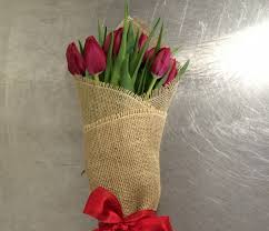 flower delivery san francisco wrapped tulips in san francisco ca seti flowers
