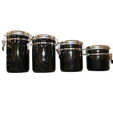 purple canisters for the kitchen kitchen stainless steel flour canister black ceramic kitchen