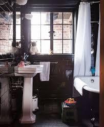 black bathrooms ideas 337 best home small bathrooms images on bathroom