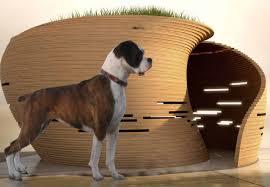kpf u0027s william pedersen designs an ultra modern doghouse with green