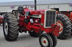 antique tractor pull farmall 1206 tricycle international farmall