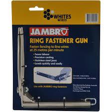 whites jambro ring fastener gun bunnings warehouse