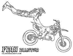 drawing dirt bike motorcross dirt biking