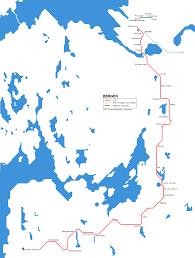 hudson bergen light rail map urbanrail europe bergen tram bybane