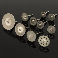 3mm diamond 10pcs 3mm 2 35mm diamond circular saw blades rotary tool set discs