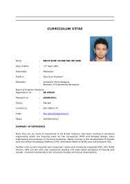 Building Engineer Resume Sample by Cv Khir Johari
