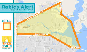 Pinellas Zip Code Map by Health Officials Issue Rabies Alert Fort Walton Beach Florida