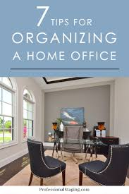 7 tips for organizing your home office