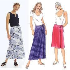 kwik sew misses u0027 wrap skirts pattern discount designer fabric
