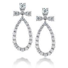 teardrop diamond earrings flont aerial teardrop diamond earrings by hearts on