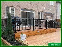 metal porch railing design idea home landscaping