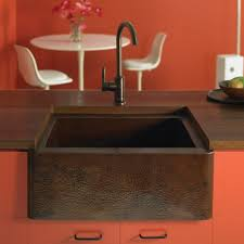 25 Inch Kitchen Sink Farmhouse 25 Copper Apron Front Sink 25 Inch Trails