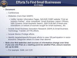 small business subcontracting plans the good the bad and the