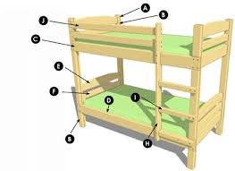 Wooden Bunk Beds Plans by Home Dzine Home Diy How To Make A Diy Bunk Bed