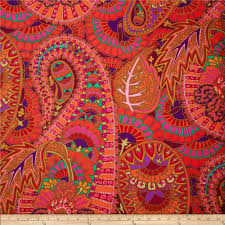 kaffe fassett fabric kaffe fassett home decor sateen fabric