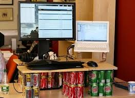 marco arment soda can standing desk personal projects